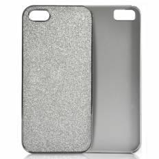 Coque iPhone 5 Rigide - Paillettes d'argent