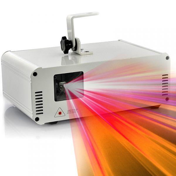 Projecteur laser 350mW avec animation couleur - Carte SD 2Go, ILDA, Animations programmables