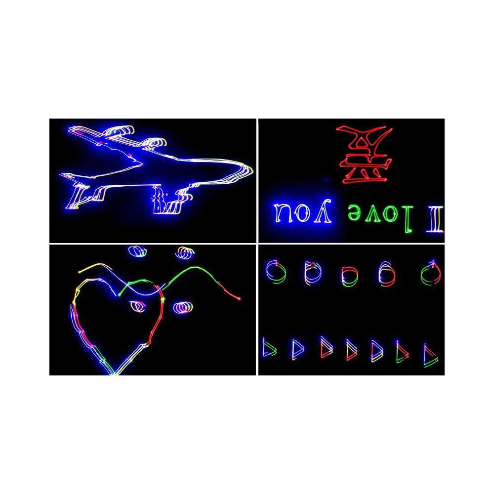 Achat vente projecteur laser 350mw avec animation couleur pas cher for Projecteur laser noel pas cher