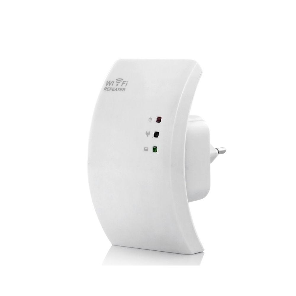 r p teur booster amplificateur signal sans fil wifi rj45. Black Bedroom Furniture Sets. Home Design Ideas