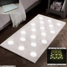 Tapis à lumière LED automatique