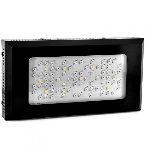 "Hydroponic LED Grow Light ""Sensemilla"" - 240 Watt, 80 LEDs, 2x UV LEDS"