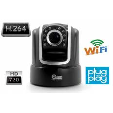 Caméra IP PTZ, Plug and Play, audio bidirectionnel, HD 720p