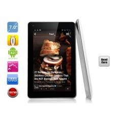 "Tablette 7"" Android 4.2 - Quad Core 1.2 GHz, 1 Go de RAM, 8 Go de mémoire"