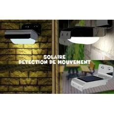 Lampe extérieur LED Solaire avec capteur de mouvement