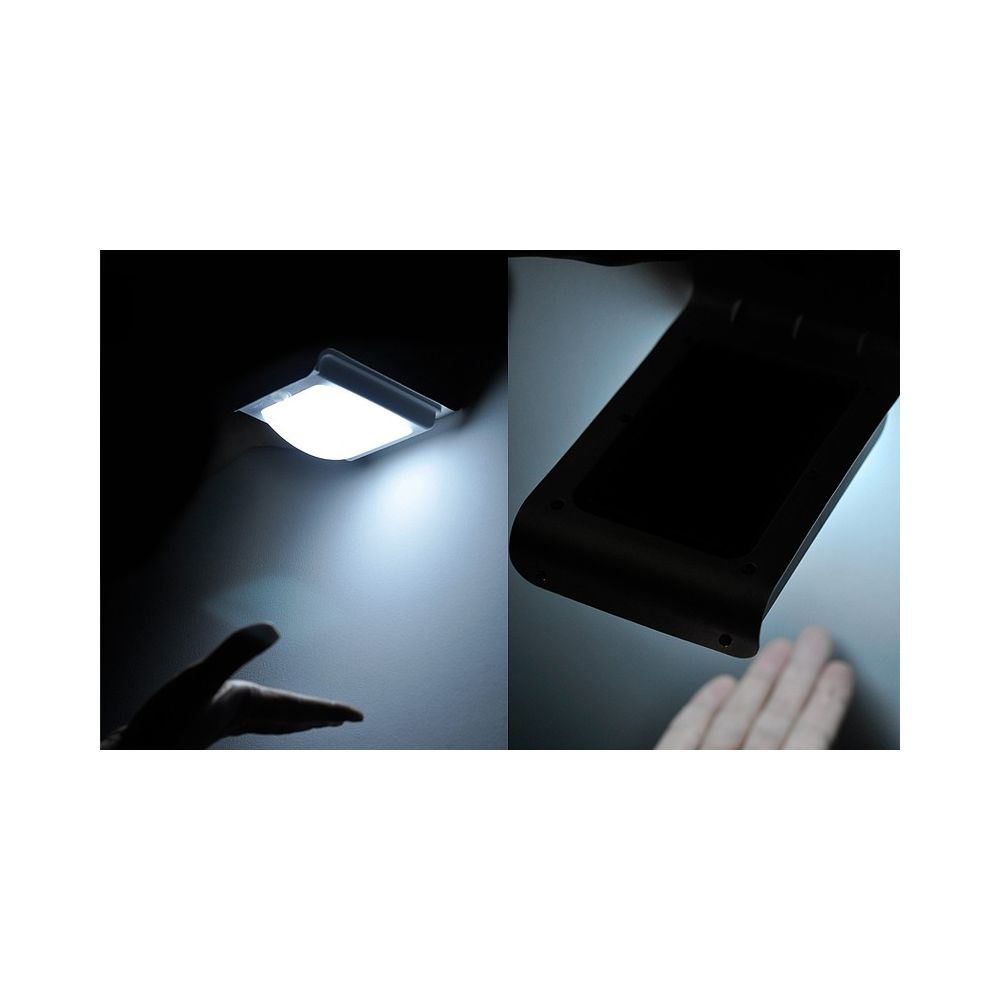lampe ext rieur led solaire avec capteur de mouvement. Black Bedroom Furniture Sets. Home Design Ideas