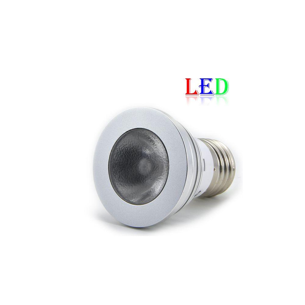 ampoule led achat ampoule led rgb spot e27 avec t l commande pas cher. Black Bedroom Furniture Sets. Home Design Ideas