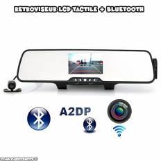 Rétroviseur caméra sans fil - Bluetooth, Sync et Transmetteur FM