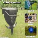 Lampe UV Solaire Anti Moustique et Insectes