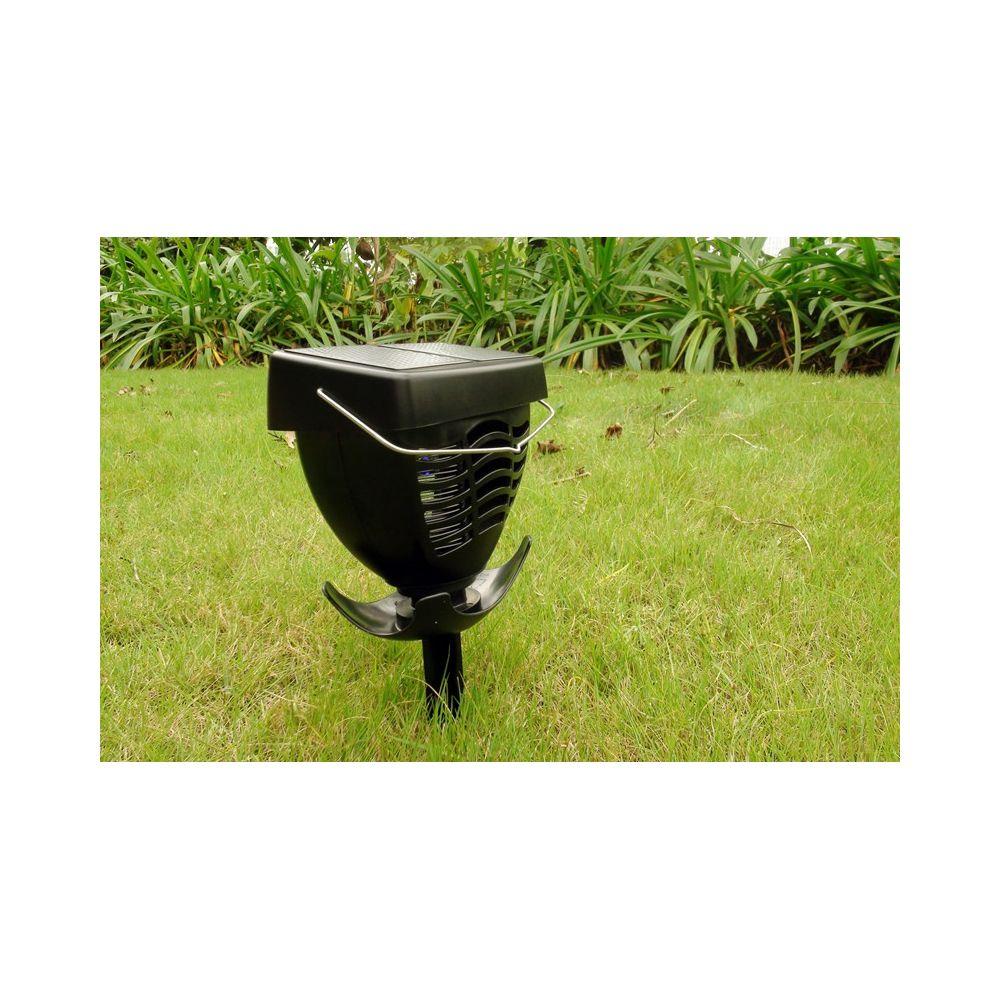 Achat lampe uv solaire anti moustique et insectes pas cher for Lampe solaire jardin brico
