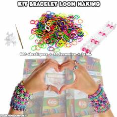 Kit création bracelet élastique