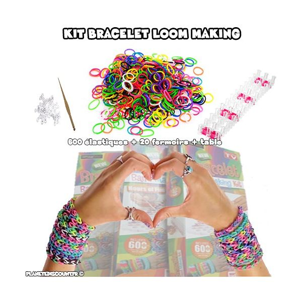 Kit création bracelet Loom Making Band