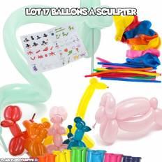 Ballons Gonflables à sculpter (pack de 17)