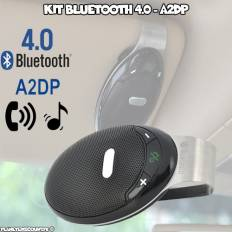 Kit mains libres Bluetooth 4.0 pare soleil voiture - A2DP