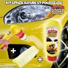 Kit efface rayure avec polisseuse électrique