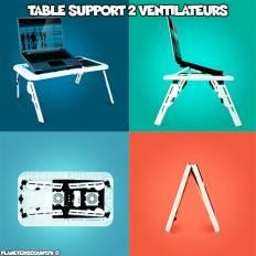 Table Support ventilé Ordinateur Portable réglable