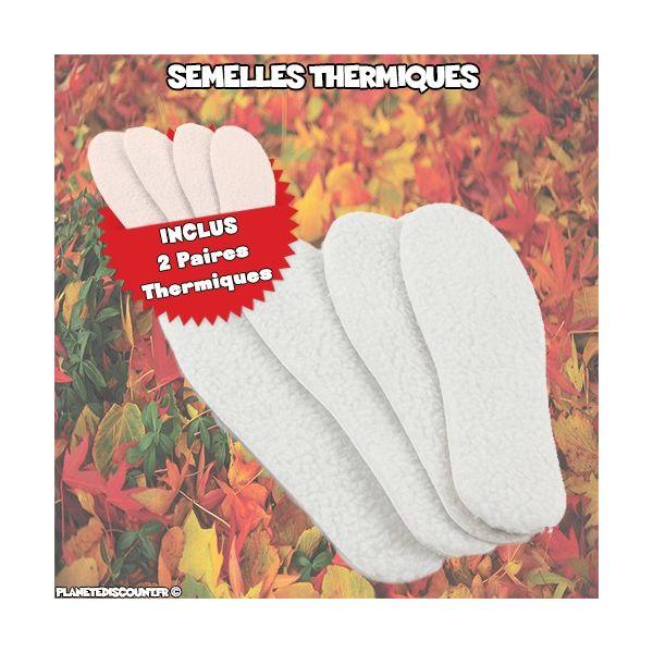 Semelles Thermiques x2 paires