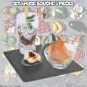 Set Amuse Bouche apéritifs design (5 pièces)