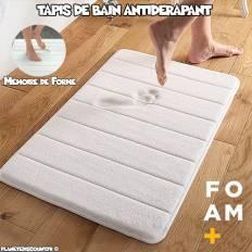 Tapis de Bain Antidérapant à mémoire de forme