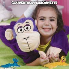 Couverture marionnette pour enfant Cuddle-Uppets