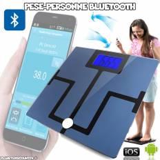 Pèse-personne Balance connectée Bluetooth iOS, Android