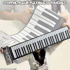 Synthétiseur flexible 61 touches programmables
