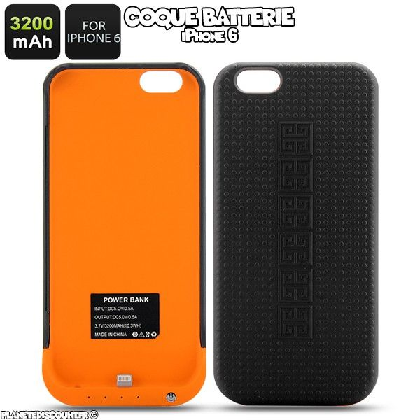 Coque Batterie iPhone 6 - 3200mAh