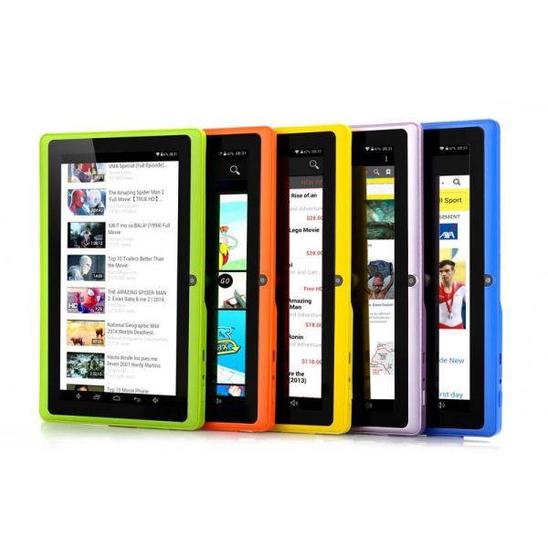 Tablette Android 4.4, 7 pouces, Dual Core, Wifi, Caméra, 8 Go