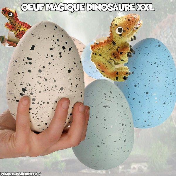 Oeuf Géant magique Dinosaure XXL