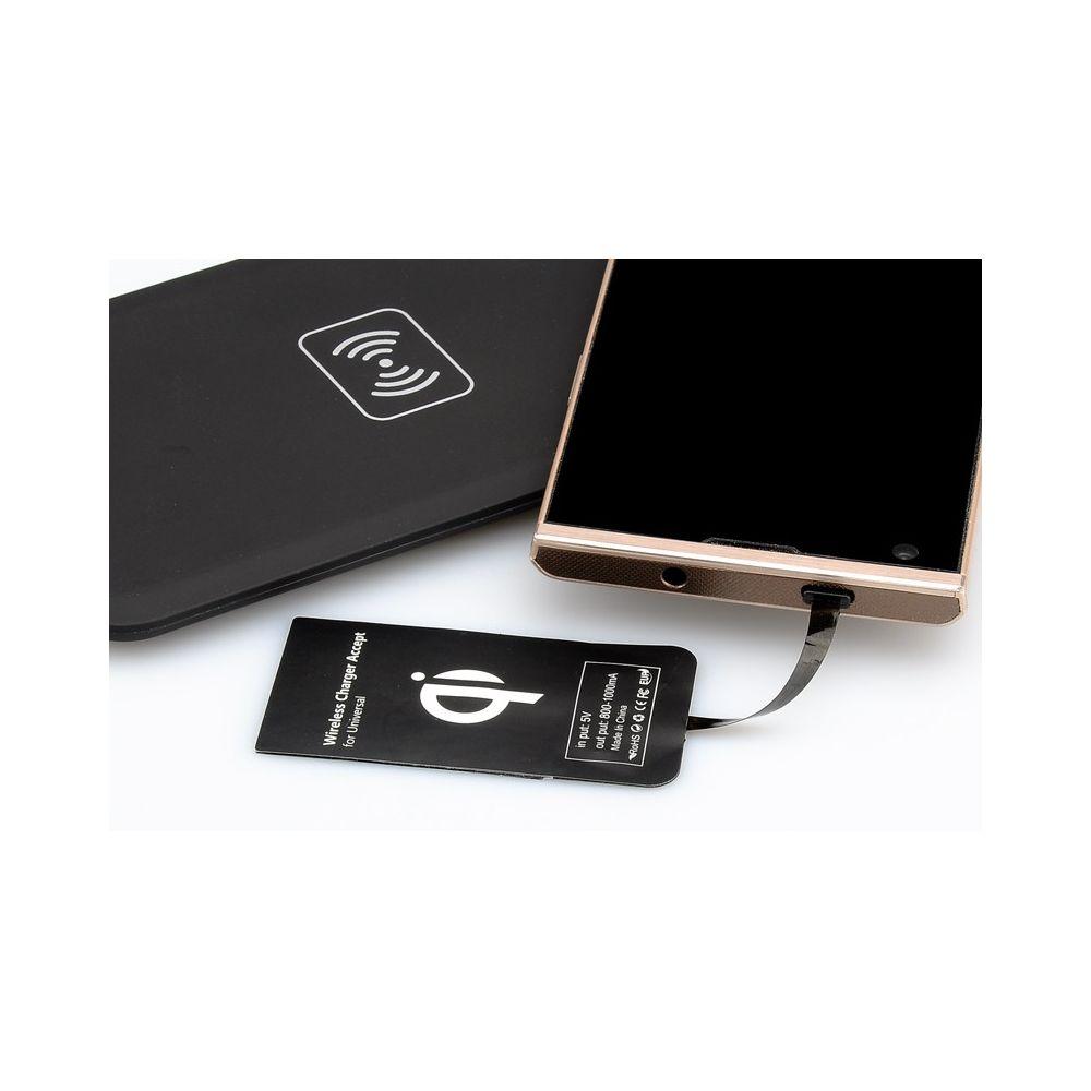 achat vente kit chargeur t l phone qi sans fil universel pas cher. Black Bedroom Furniture Sets. Home Design Ideas