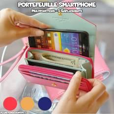 Portefeuille Smart pour Téléphone Portable