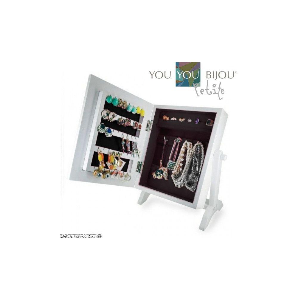 Achat vente armoire coffret bijoux avec miroir pas cher - Miroir coffret a bijoux ...