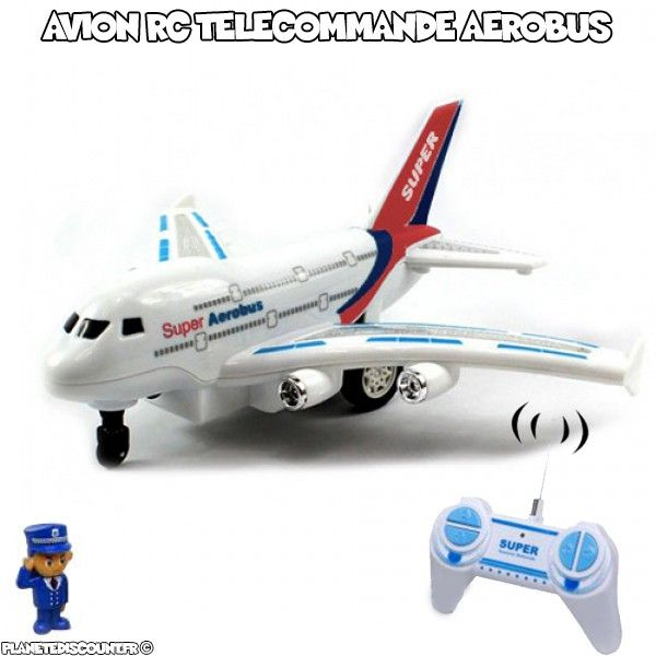 Avion RC Télécommandé Aerobus