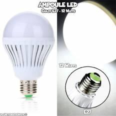Ampoule LED E27, 12W, Blanche