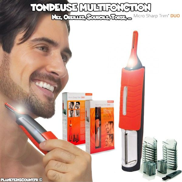 Tondeuse Micro Sharp Duo Touch -Multifonction