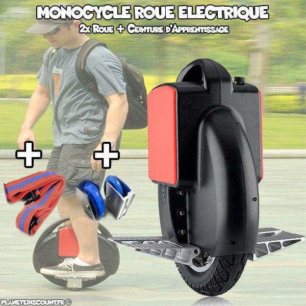 Monocycle Roue électrique 350W, 35000mAh Samsung