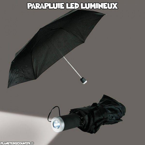 Parapluie LED Lumineux Design