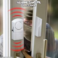 Alarme sans fil pour porte et fenêtre