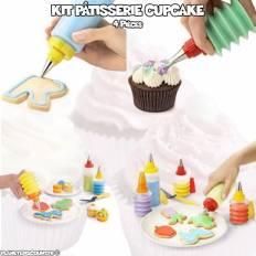 Kit pâtisserie et Cupcake (4 pièces)