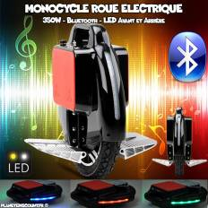 Monocycle Roue électrique 350W, bluetooth, LED, batterie Samsung