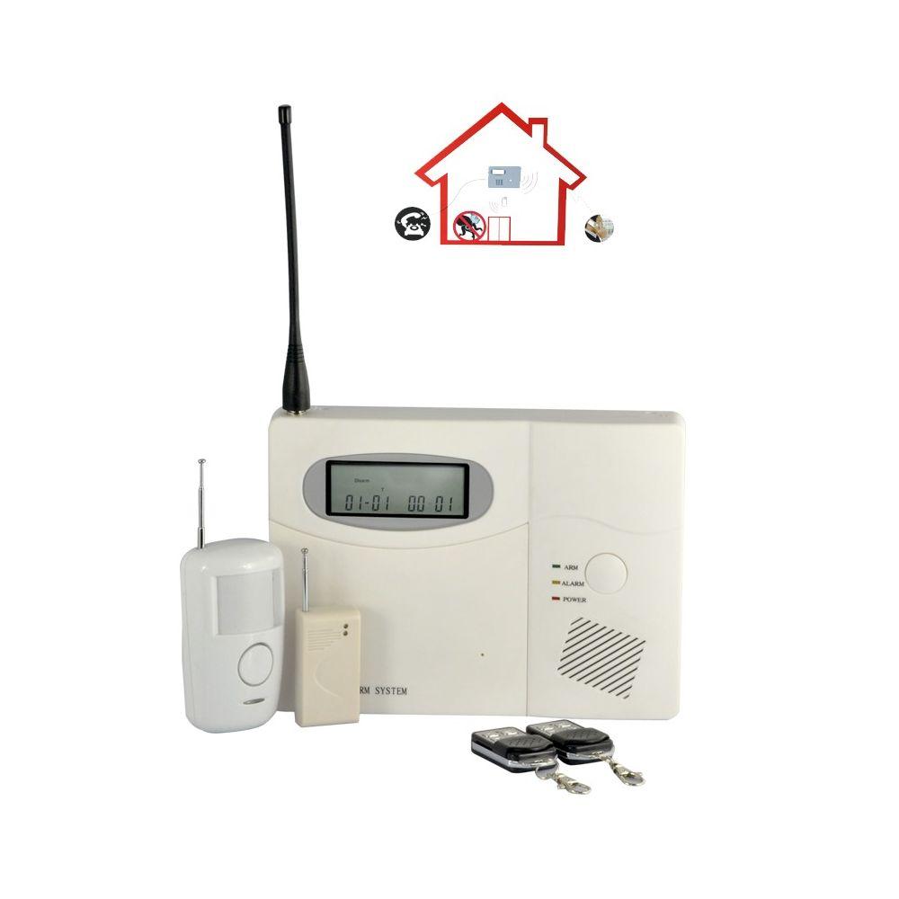 Centrale alarme achat centrale alarme maison et pro pas cher for Alarmes filaires pour maison