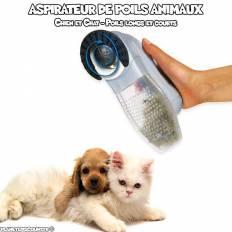 Aspirateur pour poils d'animaux