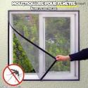 Moustiquaire pour fenêtre anti insectes