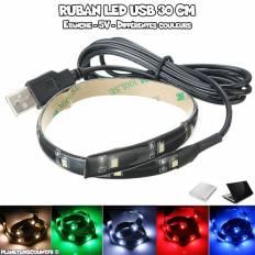 Ruban LED USB 30 cm
