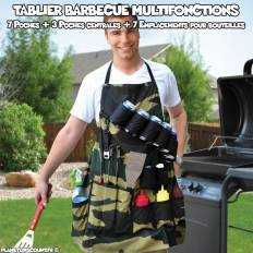 Tablier barbecue multifonctions