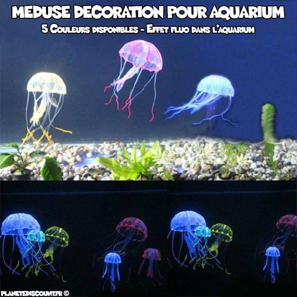 Méduse de décoration pour aquarium