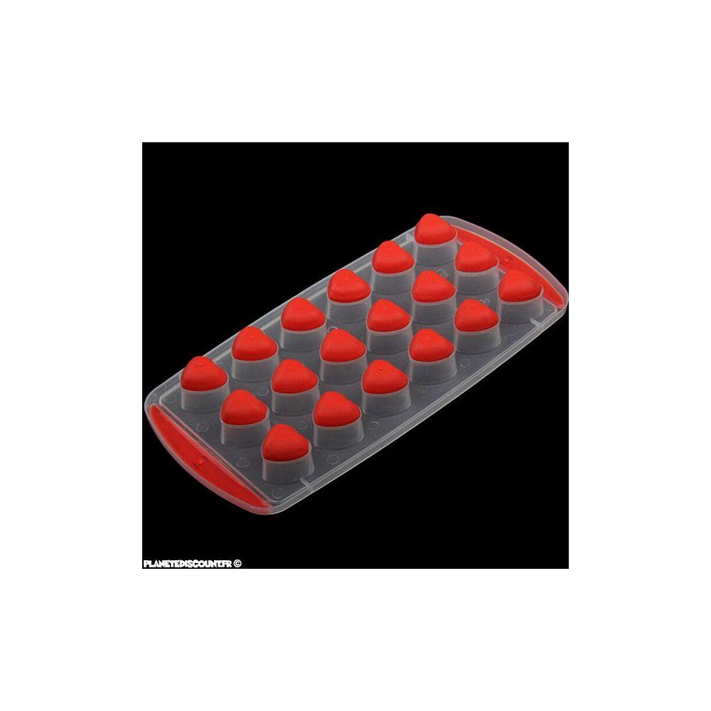 achat vente bac gla on avec fond souple silicone c ur 3d pas cher. Black Bedroom Furniture Sets. Home Design Ideas