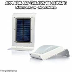 Applique extérieur LED Solaire avec capteur de son