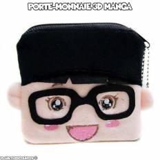 Porte-monnaie peluche 3D - cartoon lunette