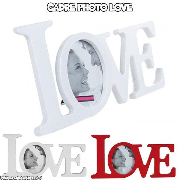 Cadre photo Love